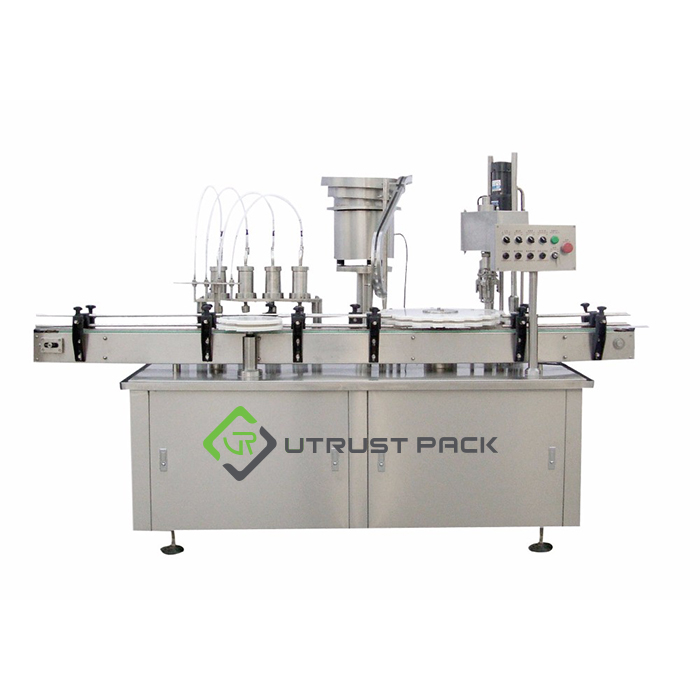 3 in 1 Automatic Carbonated Soft Drink Filling and Screw Capping Line