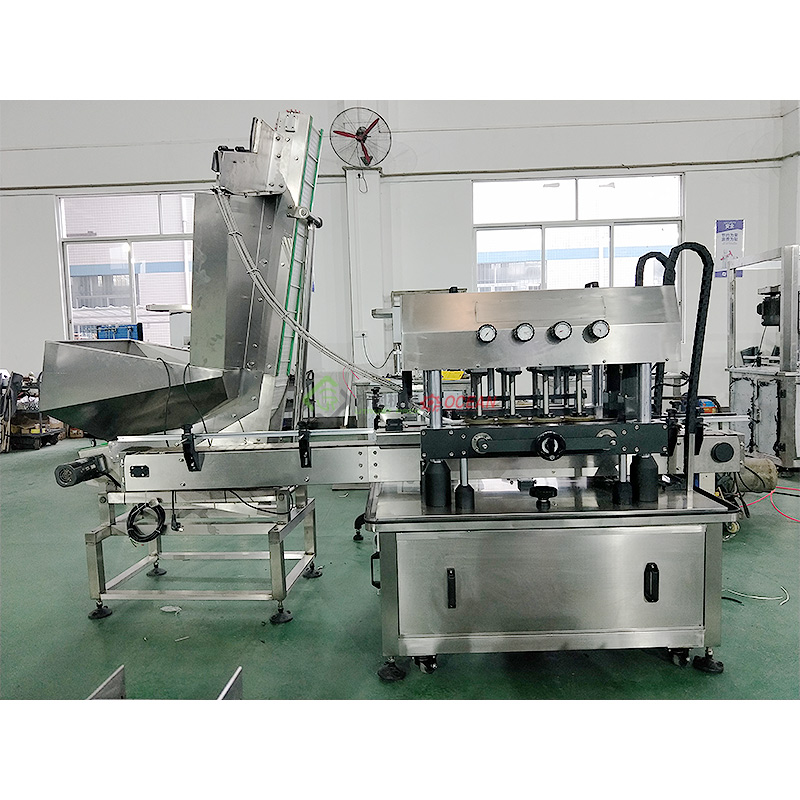 High Speed Twist Off Jars Capping Machine