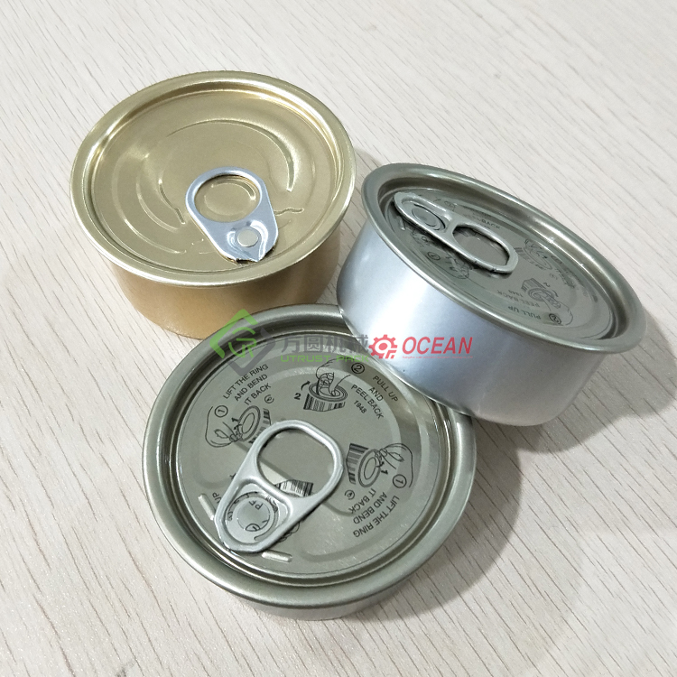 vacuum machine tin cans
