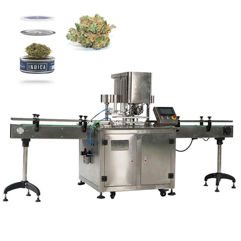 Fully automatic N2 packing solution for weeds canning