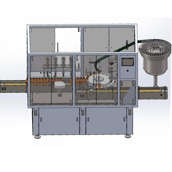 Automatic Carbonated Soft Drink Filling and Screw Capping Line