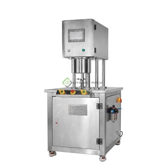 Commercial vacuum sealing machine for industrial canning