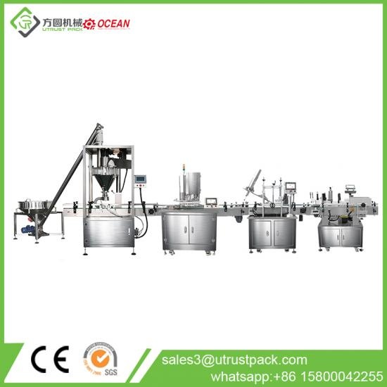 automatic powder filling packing line