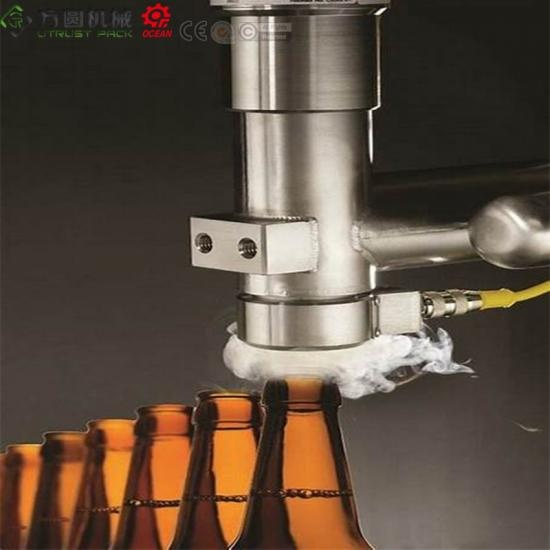 Low Price Liquid Nitrogen Injecting Machine Nitrogen Injector For Water Soft Drink Beverages