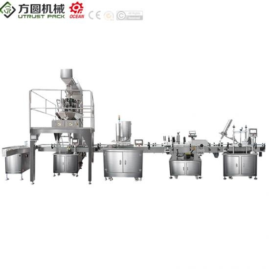 Factory Direct Supply  easy can food /Tin Can Tuna/ Seafood Packaging Production Line