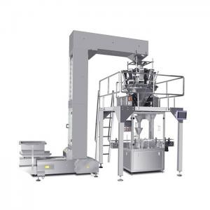 Professional production line of organic fertilizer automatic weighing and packaging