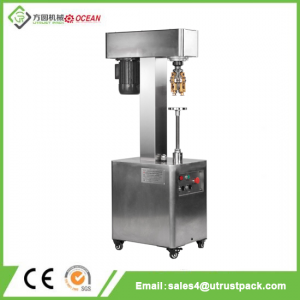 Semi Automatic Glass Bottle Capper