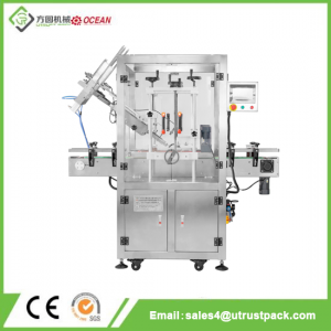 High Efficiency PET Lid Can Capping Machine with Dust-Proof