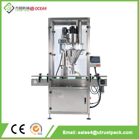 Automatic Powder Filling Machine with One Head