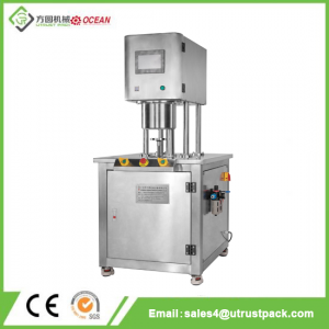 Semi-Automatic Tin Can Vacuum Seamer/Sealing Machine with Vacuum