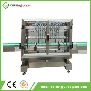 Automatic Bottle Filling Machine for Liquid