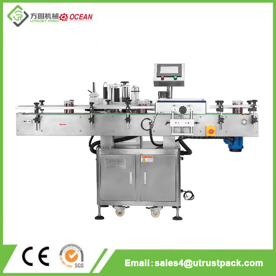 High Efficiency 20-200cs\min Automatic Labeling Machine for Jar
