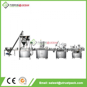 Industrial Price Powder Filler Machine Line