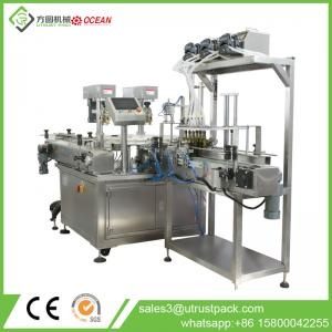Automatic Olive Oil Filling Capping Line